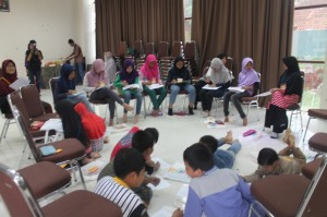 Amazing English Camp ! First Day ^_^